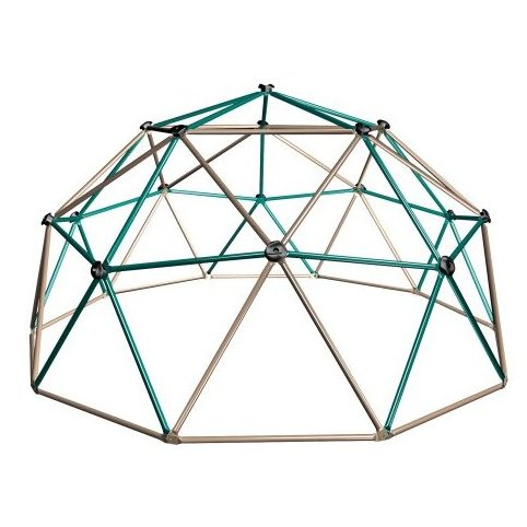 Image 0 of Geometric Dome Climber Play Center Earthtone by Lifetime