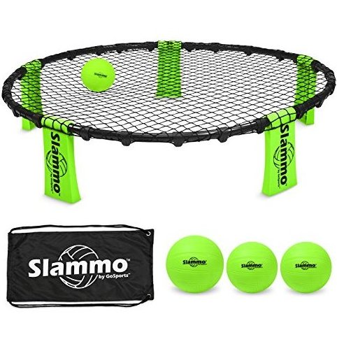 Image 0 of Slammo Game Set Includes 3 Balls Carrying Case and Rule by GoSports