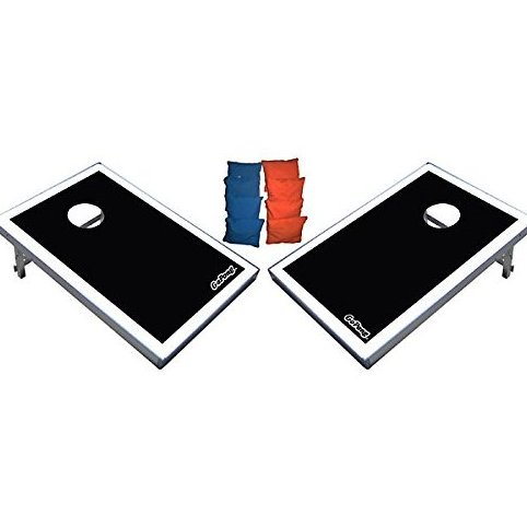 Image 0 of CornHole Bean Bag Toss Game Set - Superior Aluminum Frame by GoSports