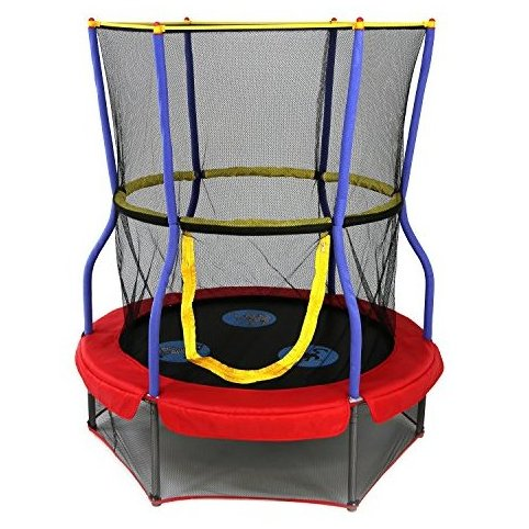 Image 0 of Trampolines 48 In. Round Zoo Adventure Bouncer with Encl by Skywalker