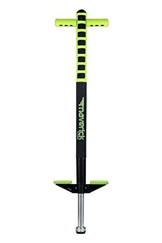 Image 0 of Foam Maverick Pogo Stick Green/Black - Great Intro Pogo S by Flybar