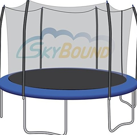 Image 0 of Trampoline Net Fits Round 12 Ft. Frames Fits 6 Straight C by SkyBound