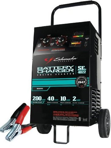SE-4022 2/10/40/200 Amp Manual Wheeled Battery Charger by Schumacher