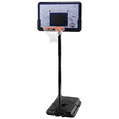 Image 0 of 1221 Pro Court Height Adjustable Portable Basketball Syst by Lifetime
