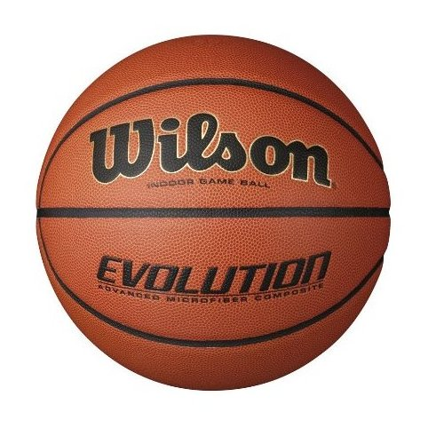Image 0 of Evolution Indoor Game Basketball Official - Size 7 by Wilson