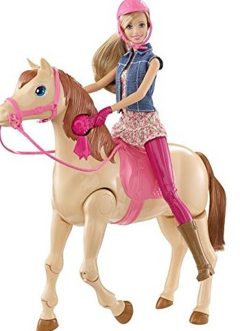Image 0 of Saddle N Ride Horse by Barbie