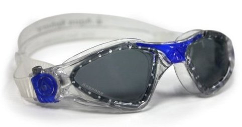 Image 0 of Kayenne Goggle With Low Profile Smoke Lens Deep Blue by Aqua Sphere