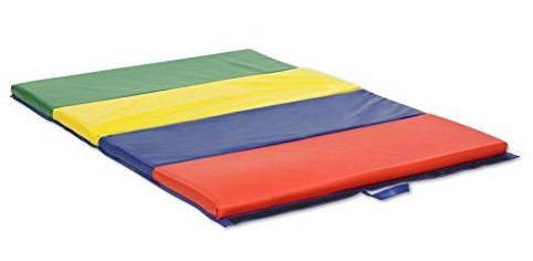 Image 0 of SoftZone 4-Section Folding Panel Kids Tumbling Exercise M by ECR4Kids