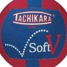 Image 0 of Soft-V Fabric Volleyball by Tachikara