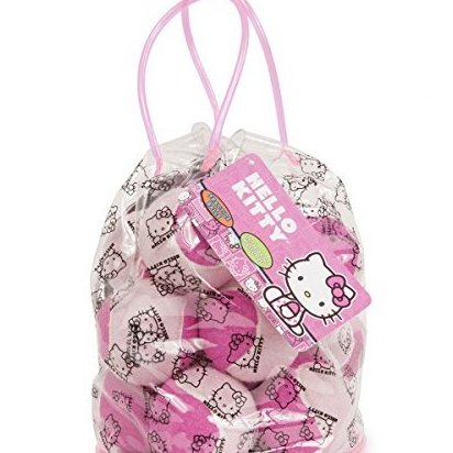 Image 0 of Tennis Pressureless Practice Balls 12-Pack P by Hello Kitty Sports
