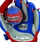 Image 0 of Air Tech Soft Foam Baseball Glove and Ball Set - S by Franklin Sports