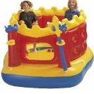 Image 0 of Jump O Lene Castle Inflatable Bouncer for Ages 3-6 by Intex