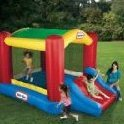 Image 0 of Shady Jump n Slide Bouncer by Little Tikes