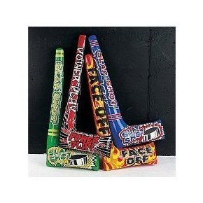Image 0 of Inflatable Hockey Sticks 1 Dozen by Fun Express