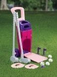 Image 0 of Junior Pro Girls Golf Set by American Plastic Toys