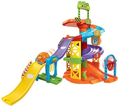 Image 0 of Go Go Smart Wheels Spinning Spiral Tower Playset by VTech