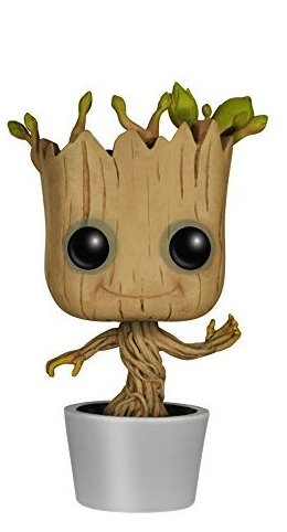Image 0 of Funko POP Marvel: Dancing Groot Bobble Action Figure by FunKo