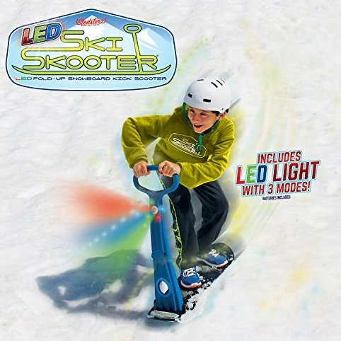 Image 0 of The Original LED Ski Skooter by GeoSpace: Fold-up Snowboa by Geospace