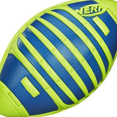 Image 0 of Sports Weather Blitz Football Toy Green by Nerf