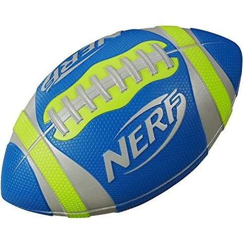 Image 0 of Sports Pro Grip Football Toy Green by Nerf