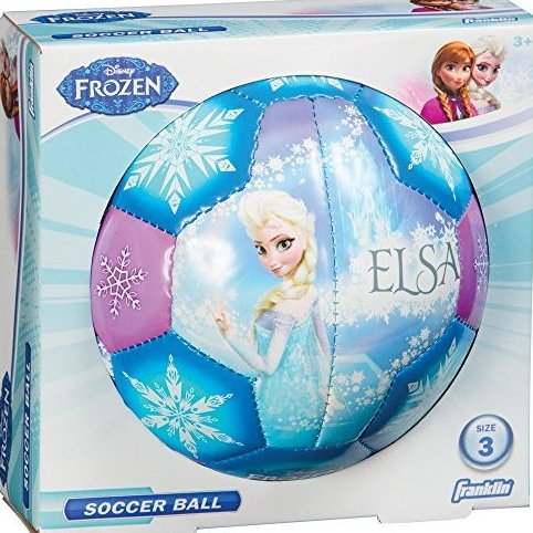 Image 0 of Disney Frozen Size 3 Soft Foam Air Tech Soccer Bal by Franklin Sports