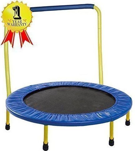 Image 0 of Portable  Foldable Trampoline - 36 Dia. Durable Construct by Gymenist