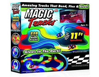 Image 0 of Magic Tracks The Amazing Racetrack That Can Bend Flex and G by Ontel