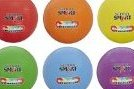 SchoolSmart Gradeball Rubber Volleyballs Set of 6 Col by School Smart