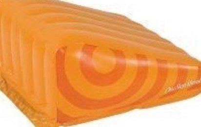 Inflatable My Geo Gym Orange Wedge by One Step Ahead