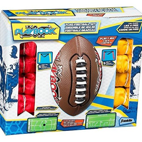 Mini Playbook Flag Football Set by Franklin Sports