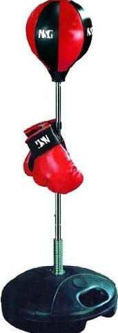 Jr. Boxing Set  Includes Punching Ball  Kids Boxing Gloves by NSG