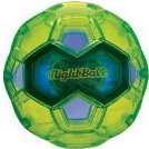 NightBall Glow in the Dark Light Up LED Soccer Ball - Large by Tangle