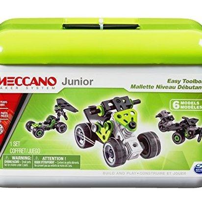 Junior - Easy Toolbox 6 Model Building Set 76 Pieces Fo by Meccano