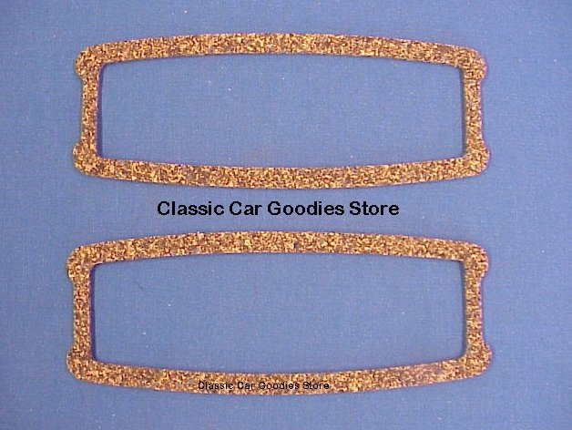 1941-1948 Chevy Tail Light Lens Gaskets (2) Cork. New! 1942 1946 1947