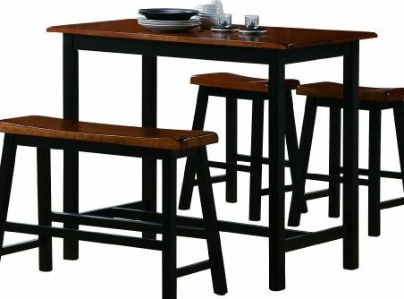 Luxury 6754 Plan - New black pub table Picture