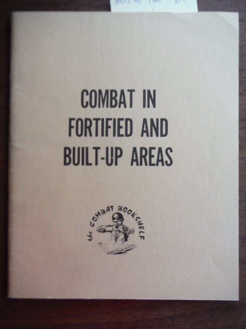 Image 0 of Combat in Fortified and Built-Up Areas FM 31-50