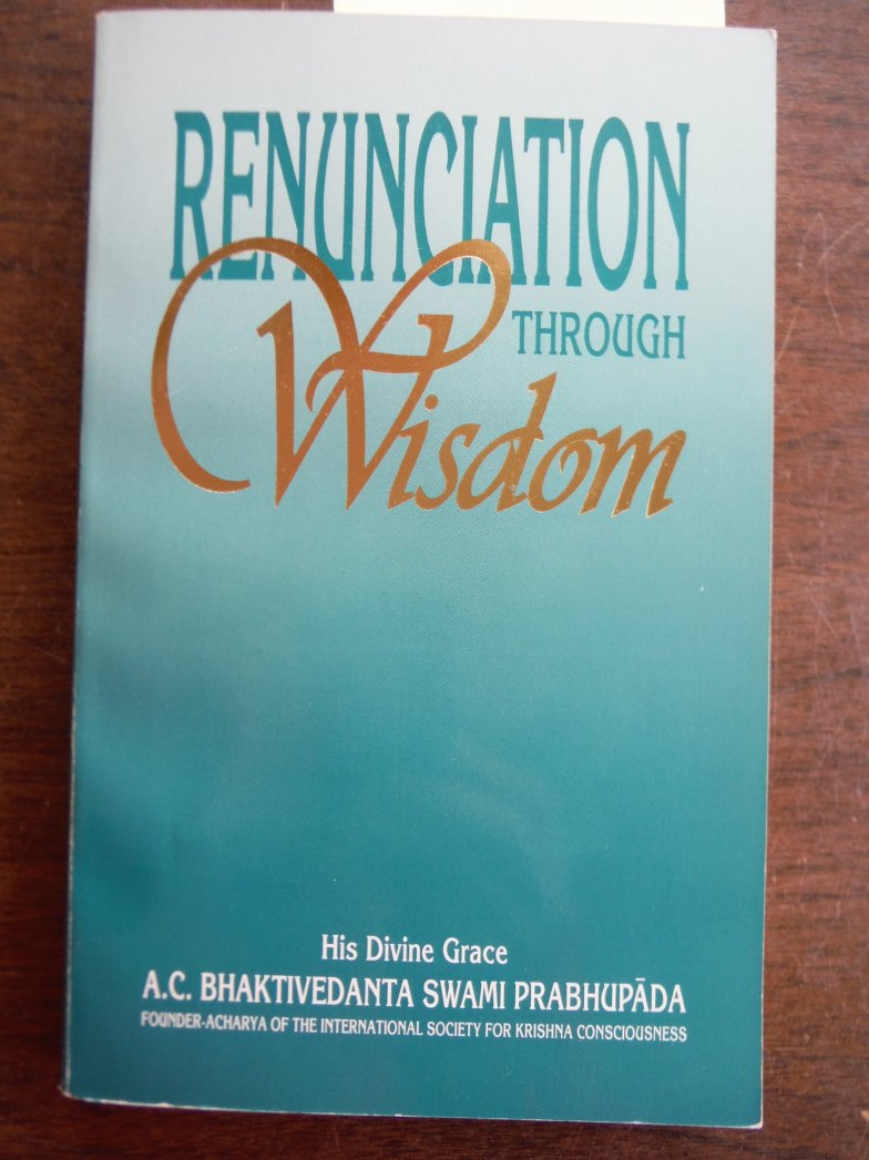 Image 0 of Renunciation Through Wisdom