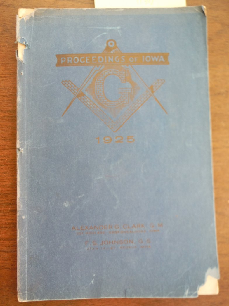 Image 0 of Proceedings of the Thirty-eighth Annual Communication Most Worpshispful United G