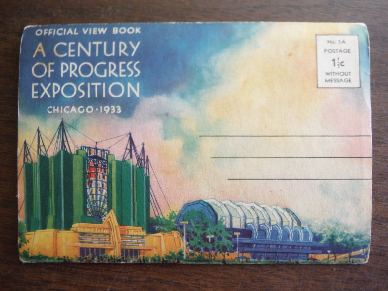 Image 0 of Official View Book A Century of Progress Exposition Chicago 1933