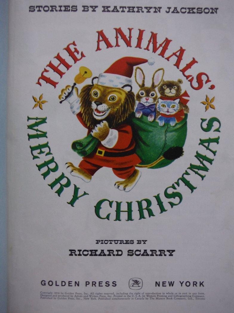 Image 1 of Animals Merry Christmas