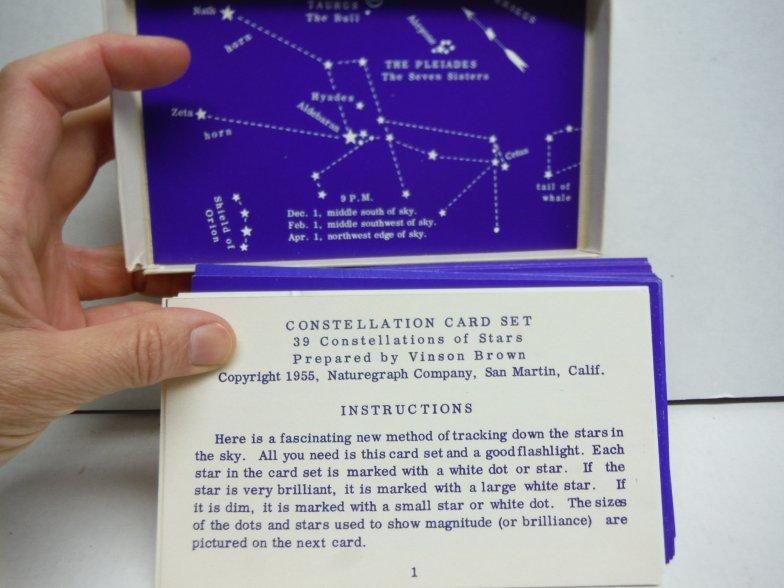 Image 1 of Constellation Card Set