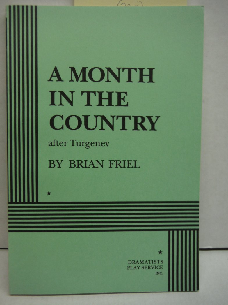 Image 0 of A Month in the Country, After Turgenev (Friel) - Acting Edition