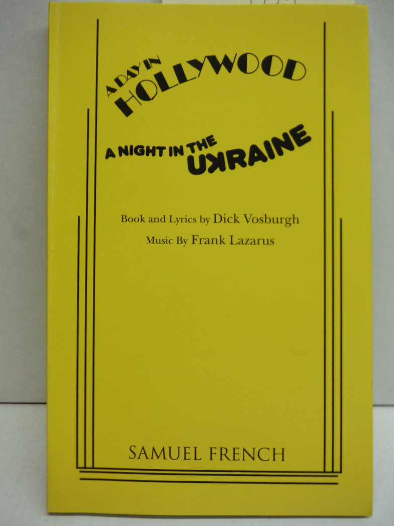 Image 0 of A Day in Hollywood, A Night in the Ukraine (French's Musical Library)