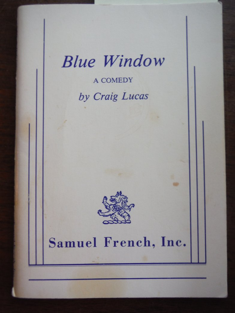 Image 0 of Blue Window  A Comedy