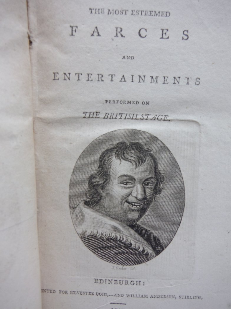 Image 2 of A COLLECTION OF THE MOST ESTEEMED FARCES AND ENTERTAINMENTS PERFORMED ON THE BRI