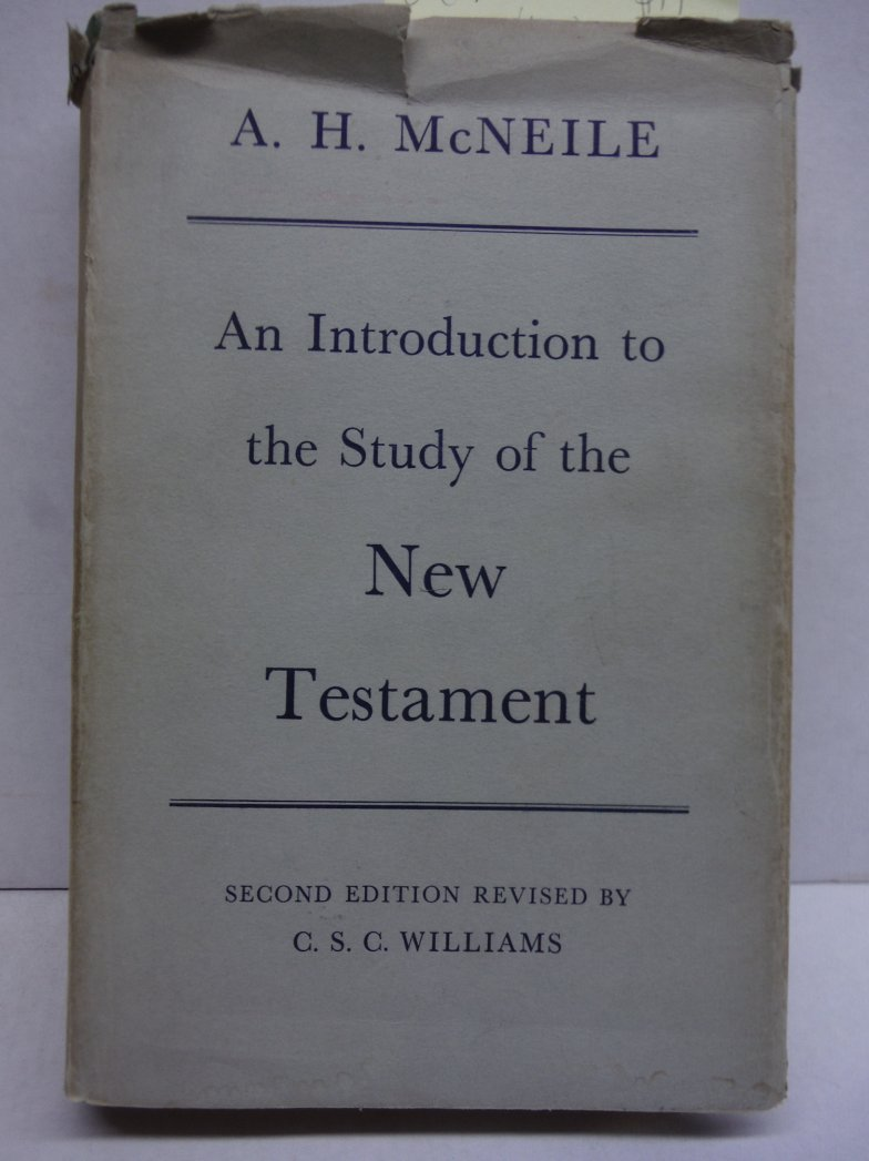 Image 0 of AN INTRODUCTION TO THE STUDY OF THE NEW TESTAMENT Second Edition Revised
