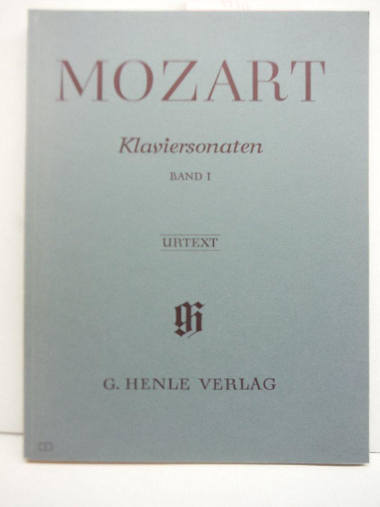 Image 0 of MOZART: Klaviersonaten, Band 1 (Urtext)