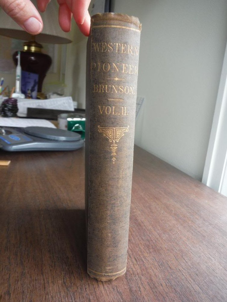 A Western Pioneer, volume II