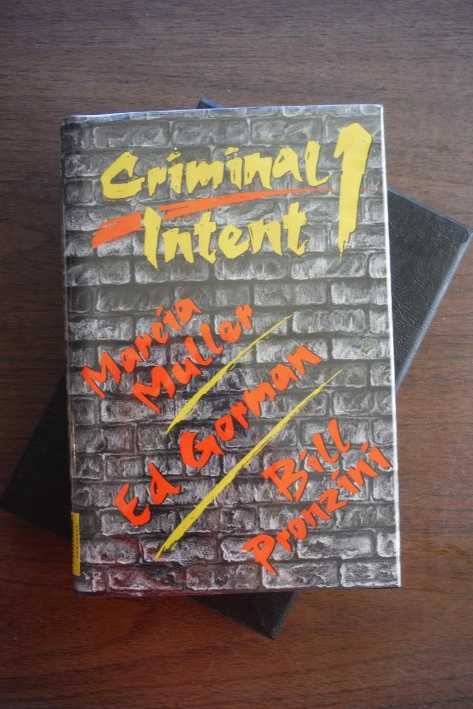 Image 0 of Criminal Intent (DeLuxe First Edition)