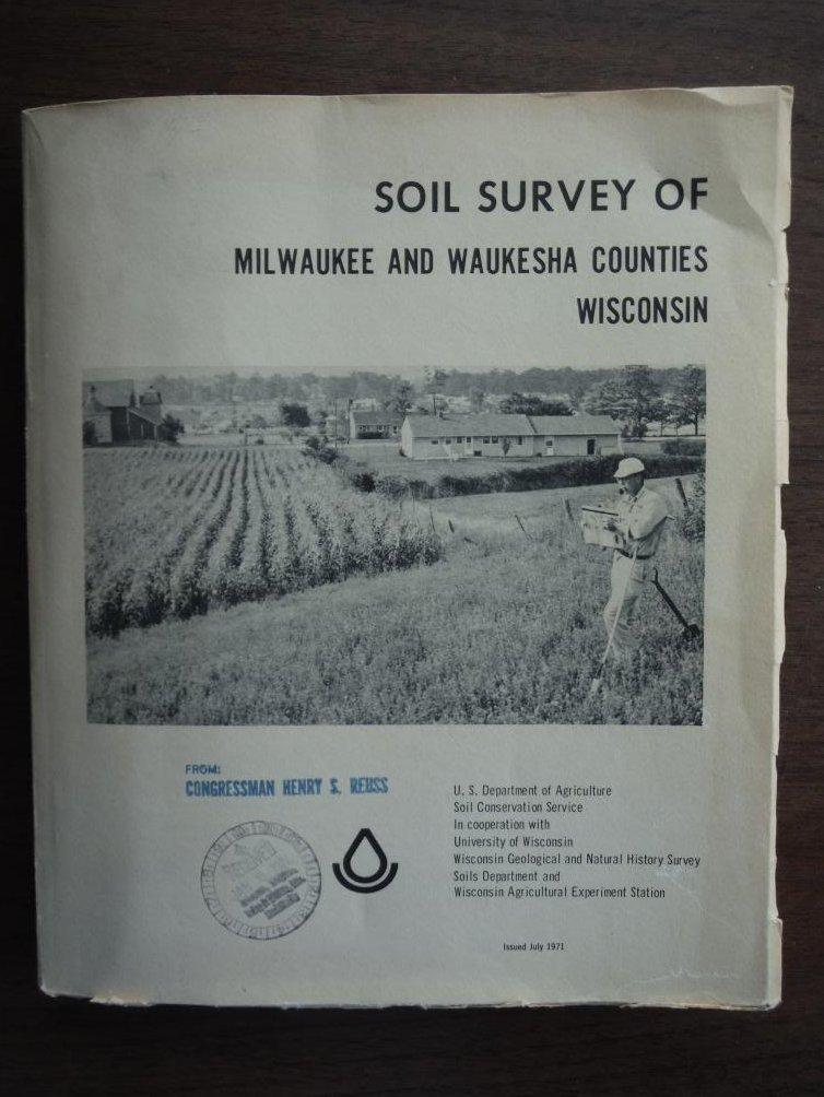 Soil survey of Milwaukee and Waukesha Counties, Wisconsin